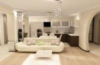 Дизайн гостиной в пастельных тонах (49 фото)