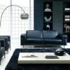 Черная мебель в интерьере гостиной — правила оформления