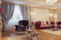 Дизайн штор в интерьере гостиной