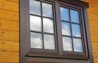 Окна из сосны со стеклопакетом