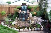 Строительство фонтанов на дачном участке