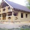 Строительство дома из натурального бруса