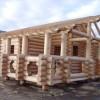 Достойный сосновый сруб для современного строительства