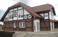 Строительство комфортабельных домов в стиле Фахверк