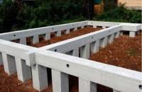 Виды фундаментов для строительства дома
