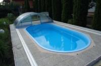 Преимущества композитных бассейнов и купелей