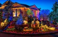 Украшение дома на новогодние праздники