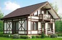 Преимущества домов в стиле «Фахверк»