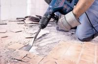 Отбойный молоток для демонтажа плитки