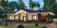 Особенности домов с террасой