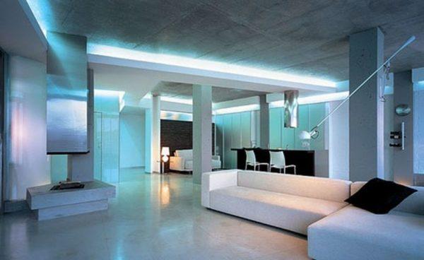 подсветка гостиной