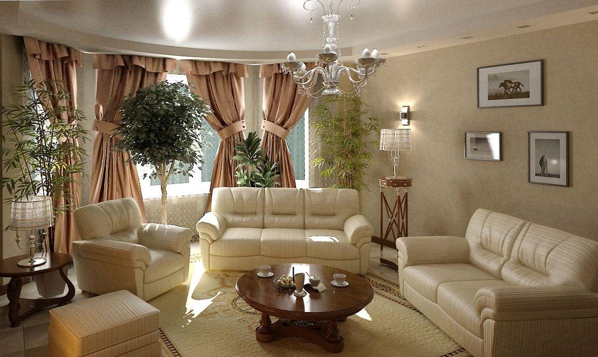 Современный дизайн гостиной в частном доме фото 66