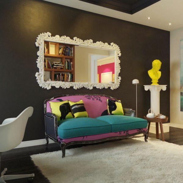 мягкая мебель в стиле экспрессионизма