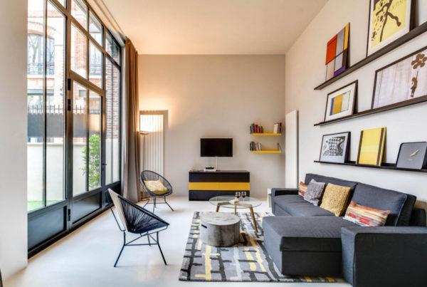 мебель в дизайне современной гостиной