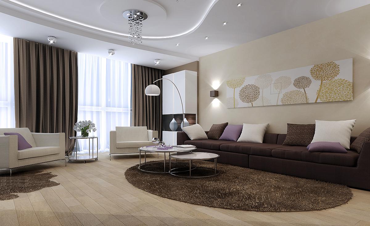 Интерьерный дизайн гостиной