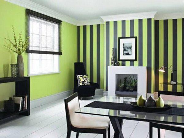 насыщенный зеленый с черной полоской