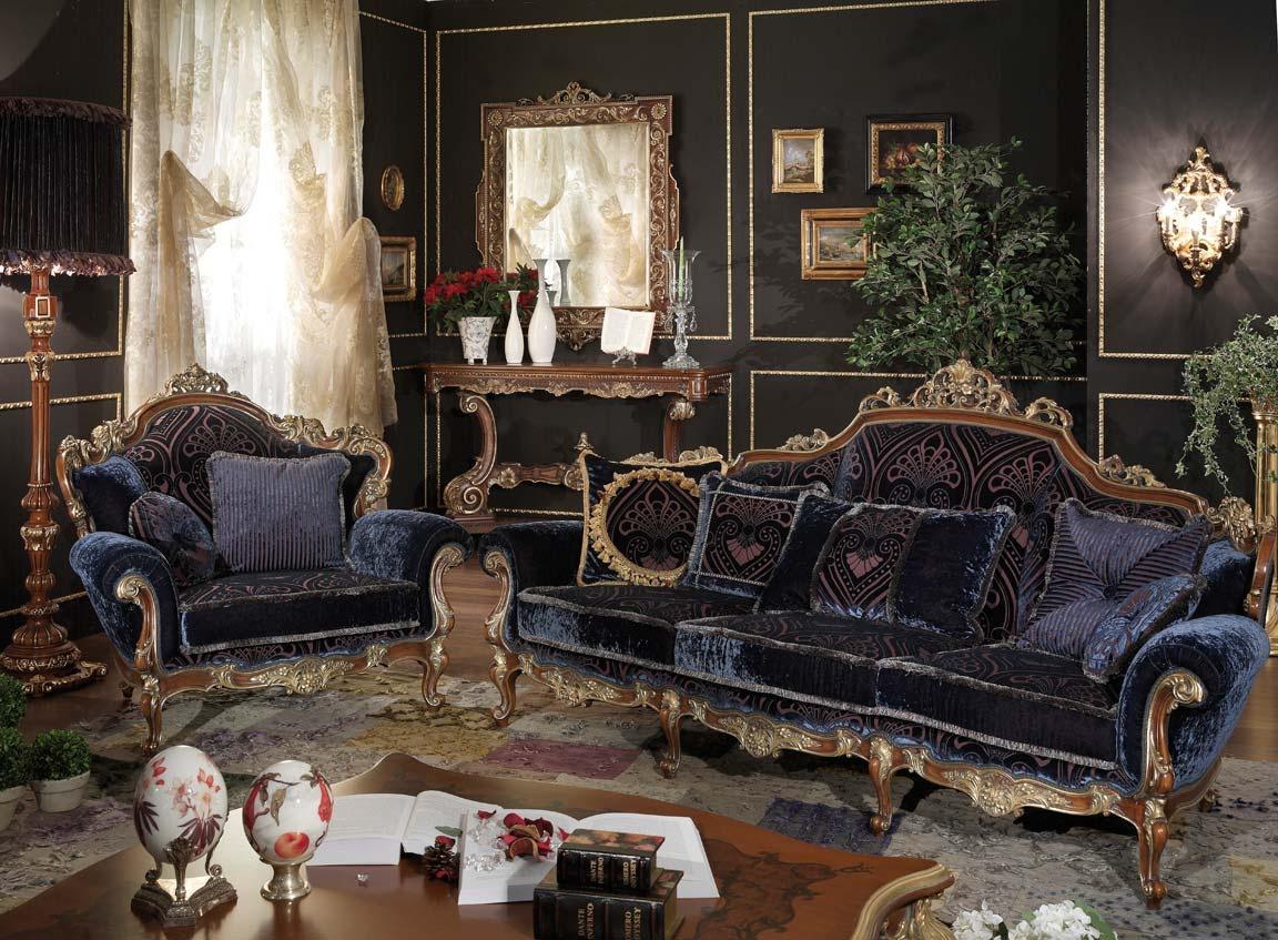 мягкая мебель в стиле барокко