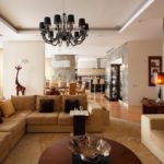 дизайн большой гостиной