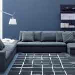 мягкая мебель в стиле минимализма