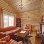 теплые оттенки в дизайне гостиной