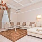 пастельная мебель в интерьере гостиной