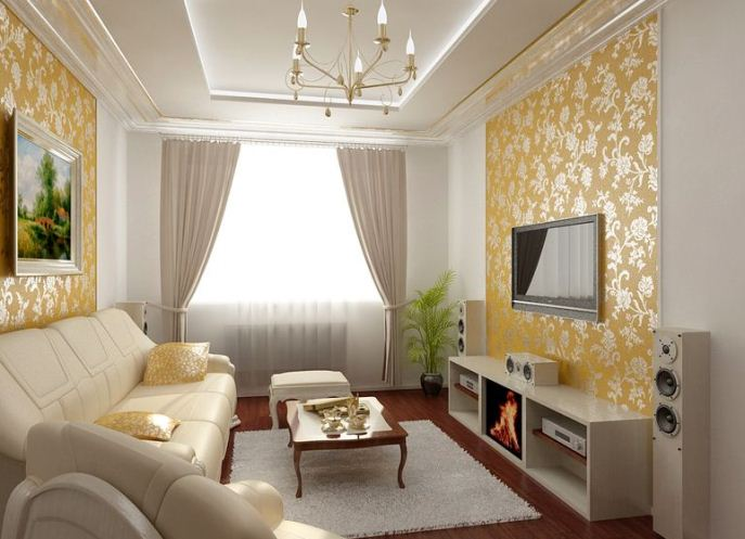 Интерьеры гостиной в квартире своими руками