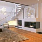 двухмаршевая конструкция лестницы