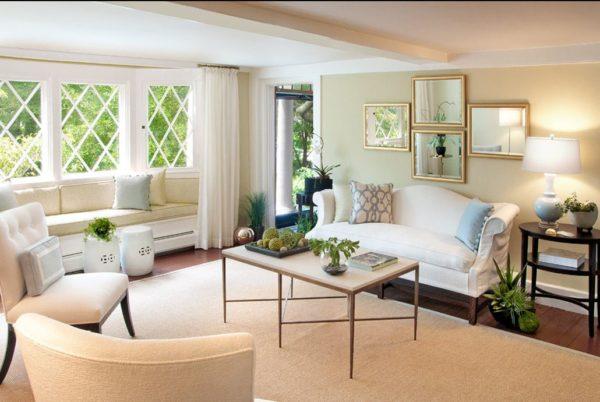 функциональная мебель в гостиной комнате
