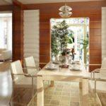 светлая мебель в гостиной комнате