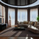 гостиная с функциональной мебелью