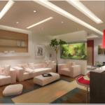большой мебельный гарнитур для гостиной