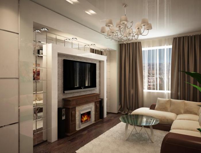 Дизайн гостиной 16 кв метров