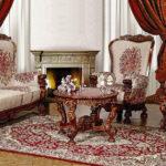 мягкая мебель в стиле ренессанса