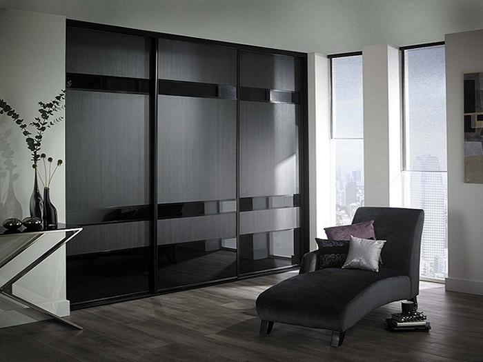 Встроенный шкаф купе в гостиную фото дизайн идеи