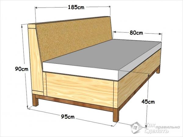 Как сделать кровать трансформер своими руками видео фото 978