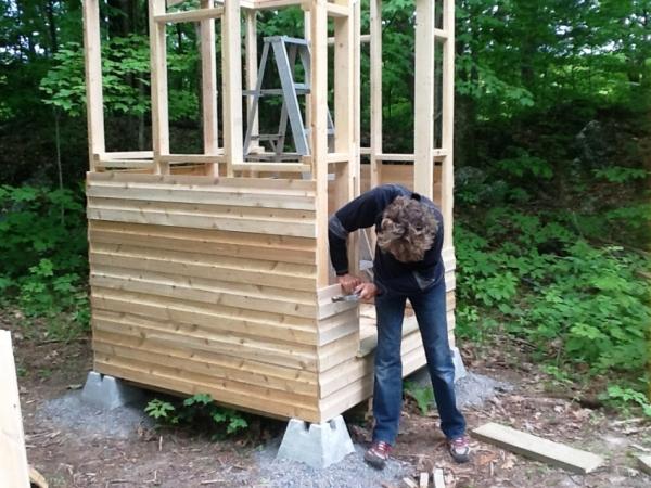 Туалет на даче своими руками: чертежи, как построить