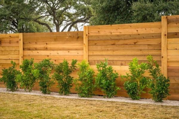 Забор из дерева своими руками: оформляем границы участка