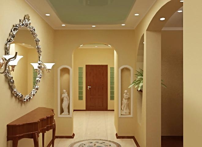 Как сделать дизайн арки в прихожей