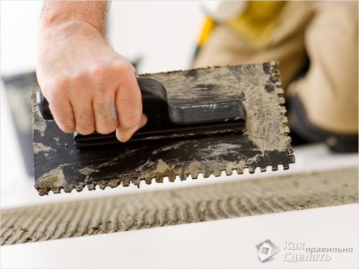 Укладка плитки своими руками — укладываем кафельную плитку