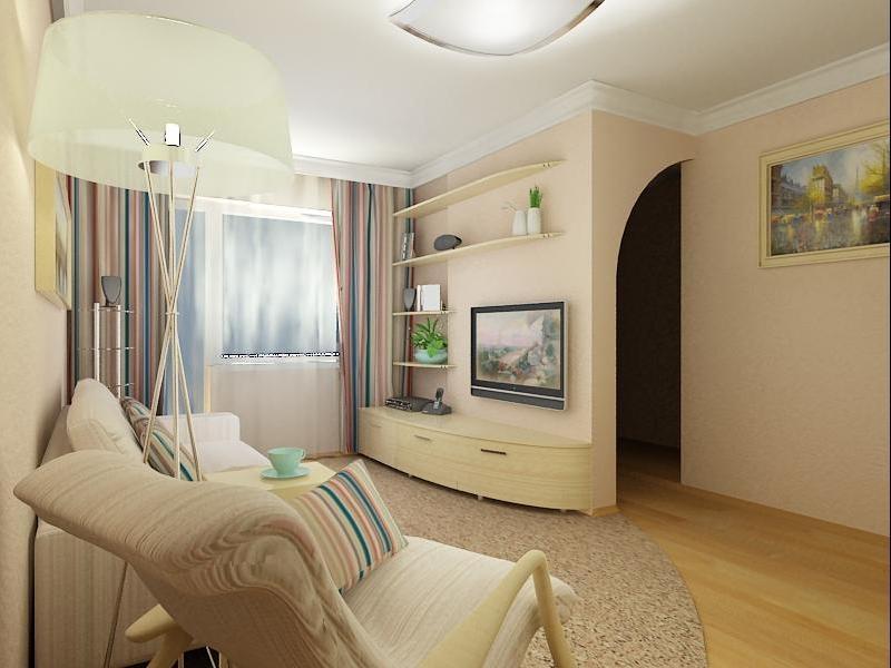 Дизайн гостиной комнаты в хрущевке 18 кв м