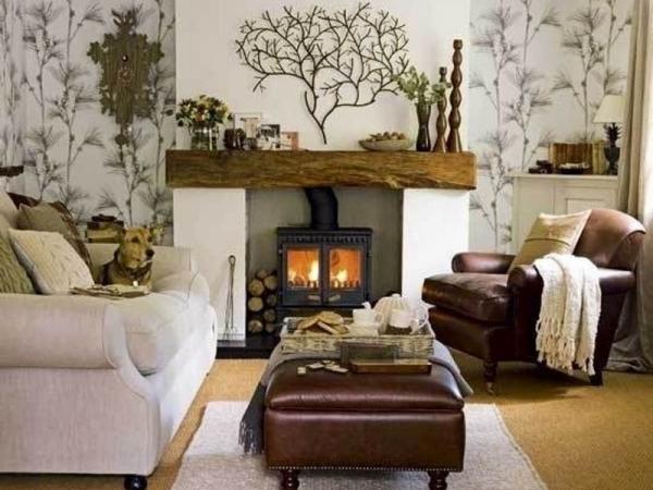 Деревенские стили в интерьере гостиной: английское, американское кантри и французский прованс