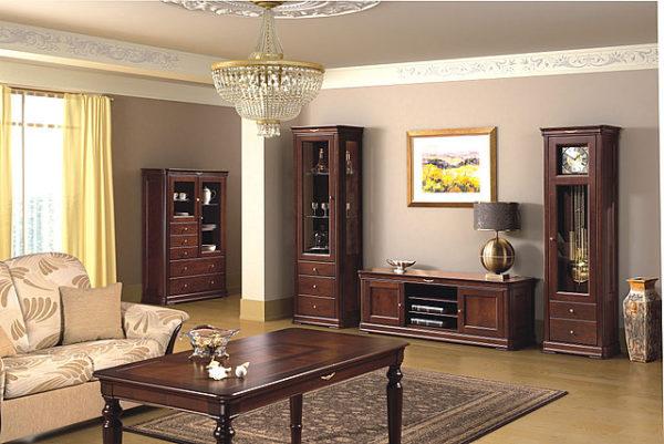 Мебель для гостиной должно быть симметричной