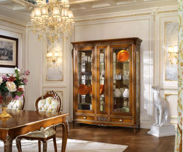 Освещение классической гостиной