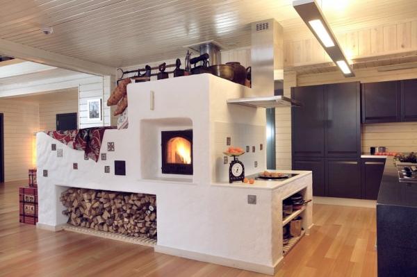 Печи для дачи на дровах: многообразие конструкций