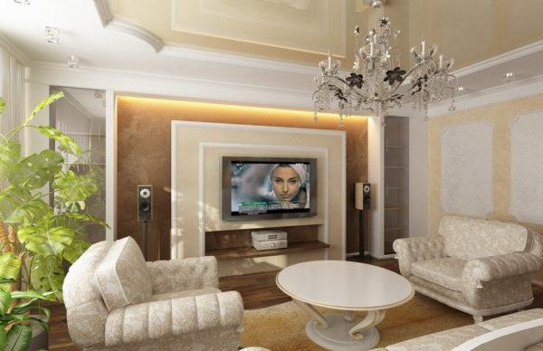 современный домашний кинотеатр в готиной