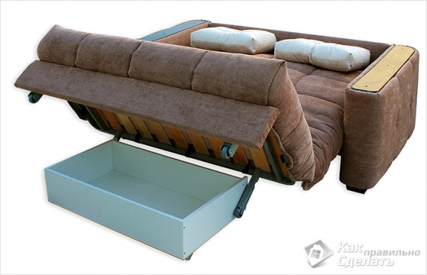 Схема сборки дивана аккордеон фото 66