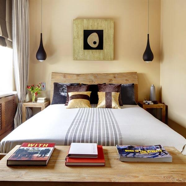 Узкая спальня: секреты обустройства