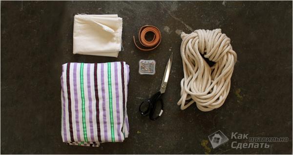 Как сделать гамак своими руками + фото