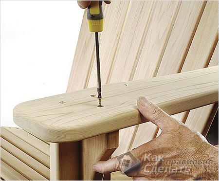 Мебель из дерева в баню своими руками
