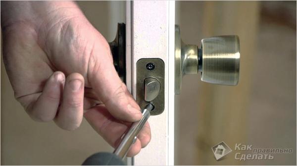 Ремонт межкомнатных дверей своими руками — замка, ручек, стекол